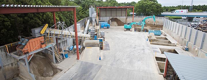 大和リサイクル工場